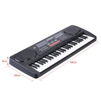 Wholesale 54 Keys Multifunctional Digital Electric Piano Electronic Organ Electronic Music Keyboard with Sheet Music Holder Microphone