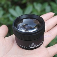 Wholesale 30x36mm Jeweler Optics Loupes Magnifier Magnifying Glass Lens Loop Microscope PY order lt no track
