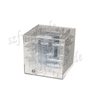 atm acrylic - New Design Children s Funny Transparent Maze Saving Money Box High Quality Acrylic Boxes Puzzle ATM Labyrinth Coin Bank