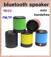 Wholesale mini wireless speaker bluetooth car amplifier active subwoofer for outdoor iphone6 s smart phone support fm tf card handsfree usb MIS029