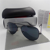 Wholesale New Brand Designer Mirror Fashion Sunglasses For Men and Women UV400 Retro Vintage Sun glasses With box and cases