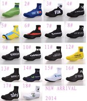 Wholesale 2015 New arrival Team Cycling Bike Bicycle Cycling Overshoes Shoes Cover Size M XL Styles Cycling Footwear