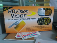 Wholesale packs HD Vision Visor Day and Night Visor UV Rays Shield Sun Easy View Flip