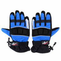 Wholesale 1Pair Pro biker Winter Gloves Waterproof Windproof Thermal Warm Motorcycle Racing Gloves Outdoor Activities Gloves Colors