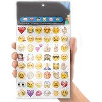 animal die cuts - Cute Lovely Die Cut Emoji Smile Viny Sticker for Phone Tablet Laptop Decor