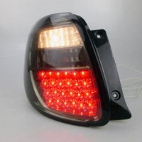 adapt work - smoked LED taillight assembly adapted LED running lights brake lights LED down lights M55614 Work Lights