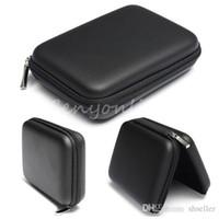 Livraison gratuite Noir dur Carry Case Housse pour 2,5 USB HDD WD External Hard Disk Drive Protector Protéger Sac boîtier A5
