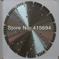 Wholesale 10pcs Green concrete cutting blade230x10x22 mm laser saw blade for green concrete power tool blades power tool accessory