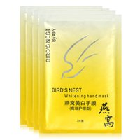 beauty horn products - pair Guarantee Bird Nest Remove Horn Hand Skin Smooth Exfoliating Hand Mask Hand Care Beauty Product