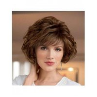 Cheap American Hairstyle Cheap Synthetic Hair Wig 12inch Short Hair Curly Design 098