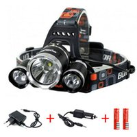 Wholesale 2015 New L2 Headlamp Lumens x Cree XM L2 Head Lamp LED camping Headlamp Headlight PM00136