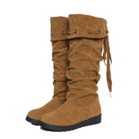 Wholesale 2015 flat boots single boots autumn and winter women s shoes boots boots winter boots