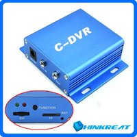 Wholesale Mini CCTV C DVR Recorder Security Digital Video Recorder Support G TF Card Playback Function Motion Detected Recording CC11