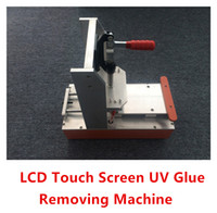 ALL Brand adhesive machine - Free Ship LCD Touch Screen Polarizer LOCA OCA UV Glue Adhesive Remove Machine Remover Clean device for iPhone4 s Samsung HTC Sony etc