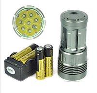 Wholesale Powerfull Lm xXM L T6 LED Hunting Flashlight T6 Torch light lamp
