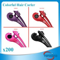 Wholesale Digital Temperature Control Tourmaline Ceramic Hot Hair Curlers Hair Roller Styling Tool pc ZY JF