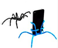 apple hanger - Spider phone holder for iPhone Samsung and Ipad camera Hanger hook Grip Holder DHL