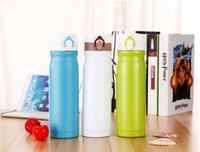 stainless steel double wall bottle - Stainless Steel Water Bottle Bullet Vacuum Travel Mug ml Double Walled Water Bottle