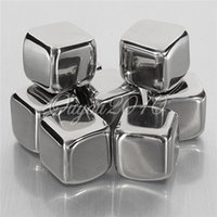 Wholesale New Stainless Steel Ice Cubes Rock Neat Drink Freezer Suitable