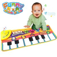 Wholesale Baby Fun Music Carpet Touch Play Keyboard Animal Piano Baby Gift Children s Toys