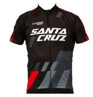 Wholesale New arrive SANTA CRUZ Short Sleeve Cycling all mountain AM jersey Crossmax shirt MTB DH MX jersey size s xxxl