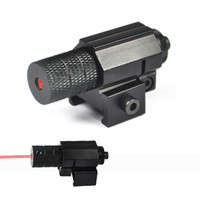 Wholesale mw Tactical Red Dot Laser Sight For Hunting Mini Red Laser Sight For Pistol Windage and Elevation Adjustable
