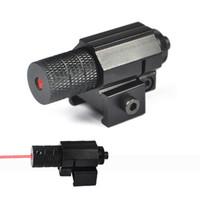 adjustable pistol sights - mw Tactical Red Dot Laser Sight For Hunting Mini Red Laser Sight For Pistol Windage and Elevation Adjustable