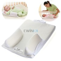 Wholesale Hot Selling Baby Infant Newborn Anti Roll Pillow Ultimate Sleep Positioner System Prevent Flat Head Cushion