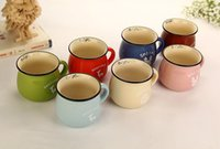 barley milk - 2015 Hot New Large Milk Cup Korean breakfast Mug breakfast cup barley flake cup Cheap Mugs on Sale at Bargain Price