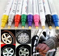 Wholesale 1 Universal Waterproof Permanent Paint Marker Pen Car Tyre Tire Rubber Metal Colors