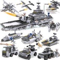Wholesale 8pcs XBL13007 Playmobil Military Star Wars Spaceship Building LegoBlocks Sets Montessori Brick Boy Toys Brinquedos Meninos