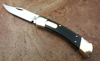 buck knives - Buck Tactical knife C Blade Brass wood handle camping knife hunting knife Double Action Conversions