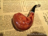 Cheap Authors wholesale import Ebony briar pipe paint consult in or out of stock