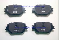 Wholesale High Knight Toyota Reiz carbon based black front brake pads ceramic brake brakes purses Post