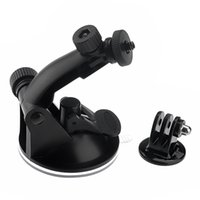 suction cup - New Black Suction Cup Mount Tripod Adapter For GoPro HD HERO HERO2 HERO3 HERO4 Sport Camera ST W0097A