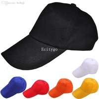 Wholesale New Mens Womens Unisex Plain Fitted Baseball Cap Visor Solid Color Blank Flat Basic Hat Colors