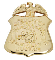 Wholesale US FBI Department of Justice Eagle Metal Badge