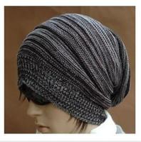 Wholesale 2014 New Brazil Black Mens Winter Cap Hot Sale Gorro Knitted Warm Beanie Fashion Casual Sport Hats For Men Bone