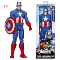 Wholesale 2015 The Avengers action figure Marvel spiderman iron man caption america darth vader green goblin kids toys dolls G190