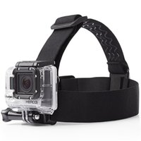Wholesale GoPro Headstrap Adjustable Head Strap Camera Mount for Hero Hero3 Hero4 Amazon Hot Sale GoPro Accessories Free DHL