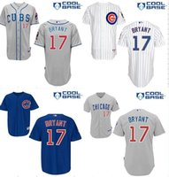 Wholesale 2015 New kris BRYANT Chicago Cubs kris BRYANT MLB Jersey gray white blue jersey size small m l xl xl xl xl