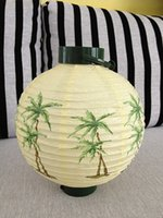 battery paper lantern - Lamps circular battery light paper lantern battery light handmade paper lantern limited edition
