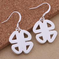 Cheap Chinese knot earrings Best 925 sterling silver Earrings