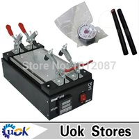 metal panel - 110 V inch Newest Black Metal Touch Glass Panel Screen Separator for Mobilephone LCD Repair Split Machine