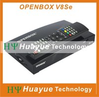 Wholesale 1PC Openbox V8Se Digital Satellite Receiver AV output Support USB Wifi WEB TV Biss Key x USB G Youporn CCCAMD NEWCAMD as S V8