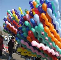 and decoration - Hot Fashion Screw Balloon Cute Dragon Twist Balloon Children Funny Toys Birthday Party Wedding Decoration H515