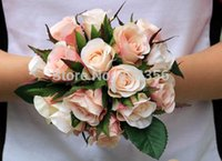 artificial mini flowers - HOT cm quot Length Artificial Flowers Simulation French Sweetheart Mini Rosebud Wedding Bride Bouquet Four Colors Available