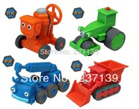 Wholesale Kids gifts Bob The Builder metal Construction Vehicles Models collection kids gifts
