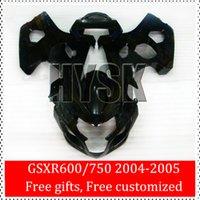 Precio de Suzuki gsxr750 fairing-Negro completa para Suzuki carenado Kits 04 05 GSXR 600 GSXR 750 2004 2005 GSX-R600 GSX-R750 K4 GSXR600 GSXR750 OEM de piezas de Suzuki