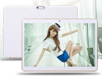 Wholesale 10 Inch Tablet N9106 HD IPS Screen PC Phablet Octa core GHz GB GB Adroid G Phone Call DHL